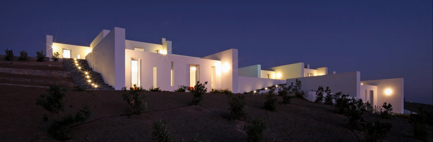 luxurious estate in Paros island